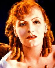 Greta Garbo Photo Print Color 8X10 Striking Image