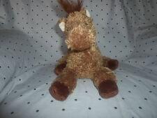 "2007 Ty Classic Trails Cocoa Pony Horse 12"" Plush Soft Toy Stuffed Animal"