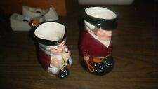2- Collectible Large Royal Doulton Toby Jugs 1- Jolly Toby 1- The Huntsman
