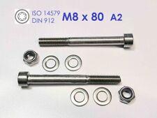 Mutter M6 A2 1 Stück Zylinderschraube M6x50 Edelstahl A2 2x U-Scheibe A2