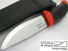 Mora Morakniv Clipper Hunter Carbon Steel Blade Knife Red Black Hdl SWEDEN 840