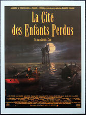 THE CITY OF LOST CHILDREN 1995 FRENCH FILM MOVIE POSTER PAGE . RON PERLMAN . N22