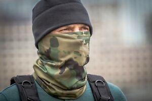 Russian army Scarf Face Mask Balaclava Lichen camo
