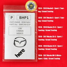 2018 2017 2016 Mazda3 Mazda6 CX3 CX5 GPS Mazda Navigation SD CARD BHP1 66EZ1F