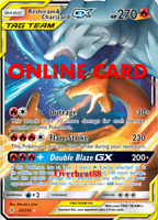 Reshiram & Charizard GX RA Pokémon TCG Online PTCGO ONLINE CARD SENT FAST!!