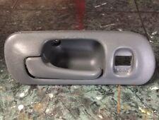 OEM 96-00 Honda Civic EK sedan front driver interior door lock handle FL gray