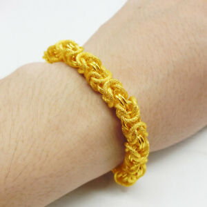 Mens Jewelry chain 22K 23k 24K Thai Baht Gold Filled Yellow GP Necklace bangle