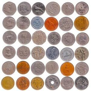 LARGEST SIZE - BIGGEST DIAMETER COINS. 1+ INCH (29-35mm). OLD, VALUABLE MONEY