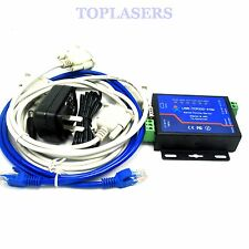 Dual Serial RS485 RS232 to Ethernet Server TCP/IP Networking Httpd Client/Modbus