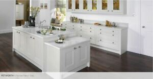 Petworth Painted Timber In-frame Kitchen doors,  Rigid Built, in 30 colours