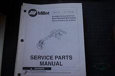 Miller Welder Ds64m Boom Wire Feeder Owner Parts Manual Book Catalog List Spare