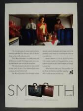 1993 Thai Airways Royal Executive Class Service vintage print Ad