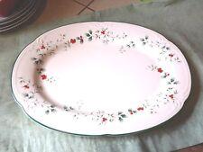 "Pfaltzgraff Winterberry Christmas Holiday Platter 1991 Plate Serving Dish 14.5"""