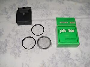 Set 3 filtri PHOTAR 55 mm. arrow close up +1 +2 +3 JAPAN