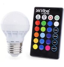 Vibe E-ssential Color Changing Light Bulb with Remote