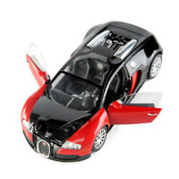 Classic 1/24 scale Bugatti Veyron Speedy Car Model Vehicle Toy Red Black Color