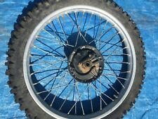 2000 00 Honda Xr200 Xr 200 Xr200R Front Wheel Assembly Rim Hub Tire