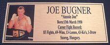 Boxing Joe Bugner  Photo  Free Postage Choose one only