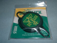"Dr Slick Reel ""D"" Ring 28"" Nylon Cord Fly Fishing Retractor Reels Zinger RPD"