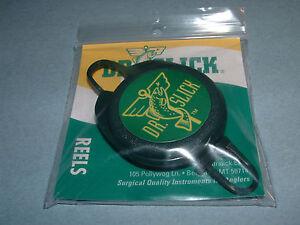 "Dr Slick Reel ""D"" Ring 28"" Nylon Cord Fly Fishing Retractor Reels Zinger RPD"
