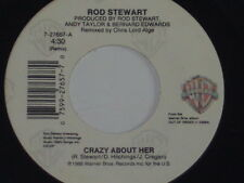 """ROD STEWART -Crazy About Her- 7"""" 45"""