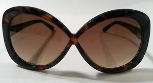 TOM FORD LADIES TORTOISE SUNGLASSES - FT226 52F - OVERSIZED - CLEARANCE PRICE