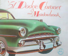 1951 Dodge Coronet/Meadowbrook Brochure: Sierra, Taglio