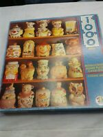 Vintage Cookie Jar 1000 piece Jigsaw Puzzle preowned