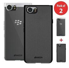 For Blackberry KEYone Skin Case Soft Back TPU Bumper Slim Hybrid Phone Cover