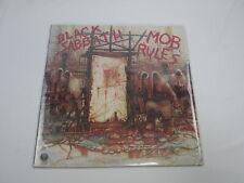 BLACK SABBATH MOB RULES 25PP-36  without OBI Japan LP Vinyl
