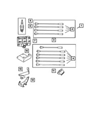 Genuine MOPAR Ignition Cable Package 5019593AA