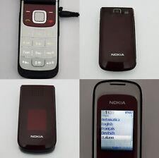 CELLULARE NOKIA 2720 FOLD RED GSM SIM FREE DEBLOQUE UNLOCKED