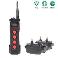 Aetertek 919C Published 2 Dogs Training System Shock Collar Remote Waterproof