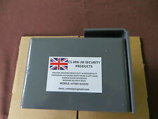 SHIPPING CONTAINER BOLT ON LOCK BOX LEFT HAND OPENING DOOR SECURITY
