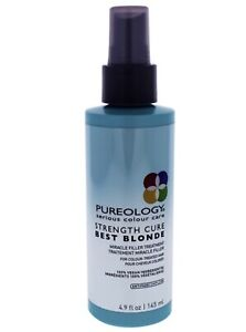 Pureology Strength Cure Best Blonde Miracle Filler Treatment, 4.9 Ounce