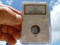1961 Roosevelt JS Proof Silver Dime Graded by NGC PF 67 Light Tone A Beauty!