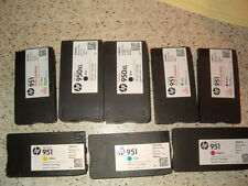 Lot of 8 Genuine HP 950XL HP 951 Office Jet Empty Ink Cartridges Never Refilled