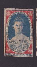 Ancienne    étiquette   Allumettes Hollande   BN23762 Femme Reine
