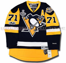 Pittsburgh Penguins Stanley Cup Champion Jersey #71 Evgeni Malkin Stitched