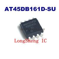 5PCS AT45DB161D-SU Encapsulation:SOP-8,8 SOIC,IND TEMP,GREENDATA FLASH new