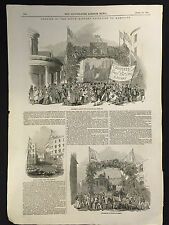 Page from The Illustrated London News April 18th 1846, South-Eastern Railway