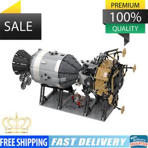 NASA Apollo Spacecraft Creative Series Compatible with 26457 Building Blocks Toy