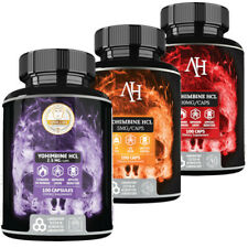 Apollo's Yohimb HCL 2.5 mg / 5 mg / 10 mg 100 Caps Fat Burner Sexual Wellness