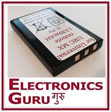 New Battery for URC MX 810 MX 880 MX 890 MX 950 MX 980 remote 1330maH
