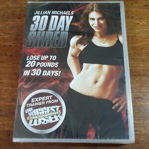 Jillian Michales 30 Day Shred DVD (Region 2 Europe) BRAND NEW