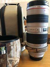 Canon EF 70-200mm f/2.8 USM L Lens