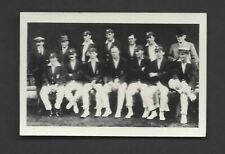 CHUMS - CRICKETERS - THE NOTTS TEAM, 1922