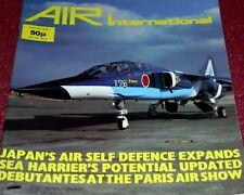 Air International Magazine 1985 August Sea Harrier,Japan JASDF,F-101 Voodoo