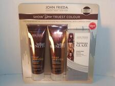 John Frieda Brunette Collection Shampoo Conditioner Glaze Clear Gloss -081644