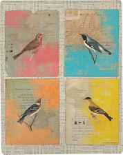 Aviary Birds Poly Throw